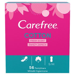 Carefree Cotton Pantyliners Fresh Scent