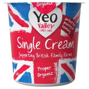 Yeo Valley single cream