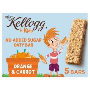 W.K. Kellogg by Kids Oaty Bar Orange & Carrot