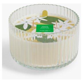 John Lewis Triple Wick Jasmine Candle