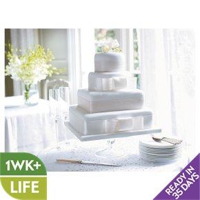 Fiona Cairns Ribboned Wedding Cake Chocolate Waitrose Partners