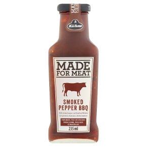 Made For Meat Smoked Pepper BBQ Sauce