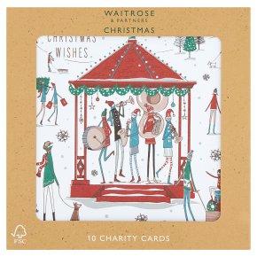 Waitrose Christmas Village Charity Card