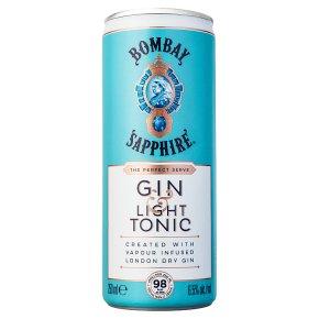 Bombay Sapphire Gin & Light Tonic