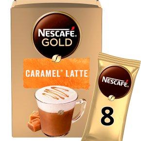 Nescafe Gold Sachets Caramel Latte Instant Coffee