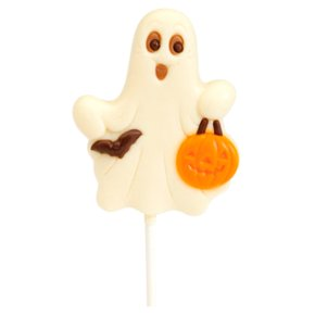 White Chocolate Ghost Lolly