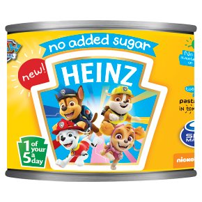 Heinz Paw Patrol Pasta Shapes No Added Sugar