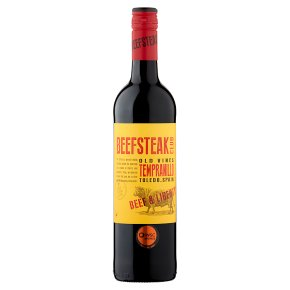 Beefsteak Club Old Vines Tempranillo