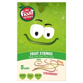 The Fruit Factory Strings Strawberry Apple & Orange