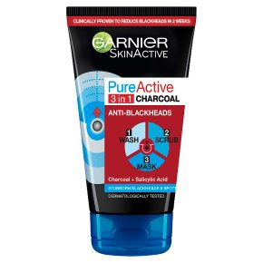 Garnier Pure Active 3 in 1 Charcoal