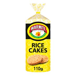 Marmite Rice Cakes
