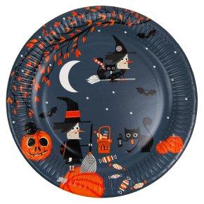 Waitrose Halloween Plates 8pk