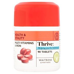 Waitrose Multivitamins & Iron