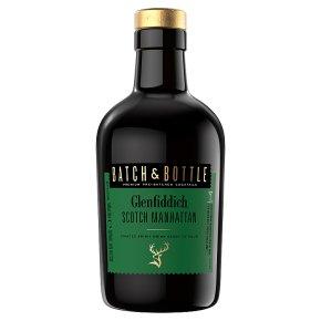 Batch & Bottle Glenfiddich Scotch Whisky Manhattan Cocktail