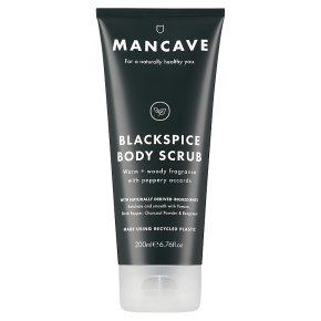 Man Cave Blackspice Body Scrub