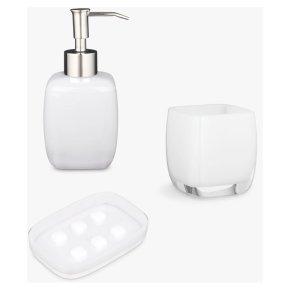 John Lewis Cubi Bathroom Assessories Set