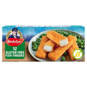 Birds Eye Gluten Free Fish Fingers