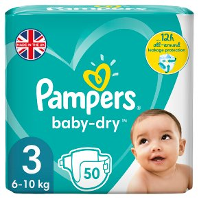 Pampers Baby Dry 6-10kg Midi