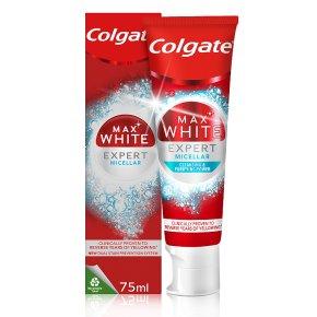 Colgate Max White Micellar Toothpaste