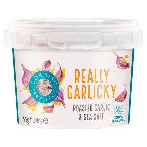 Cornish Sea Salt Co. Really Garlicky Salt