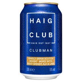 Haig Clubman & Ginger Ale