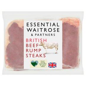 Essential British Beef Rump Steaks