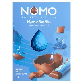 NOMO Creamy Choc Egg & Bar