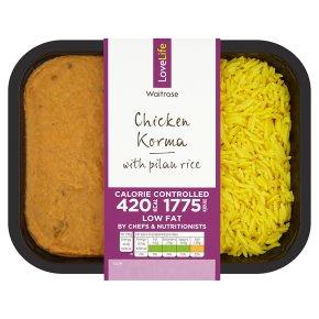 LoveLife Chicken Korma & Pilau Rice