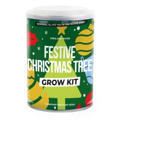 Festive Christmas Tree Grow Kit