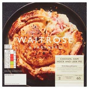 Waitrose Chicken, Ham Hock & Leek Pie