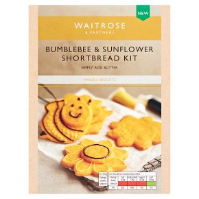 Waitrose Bee Flower Shortbread Kit
