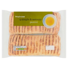 Waitrose 4 panini