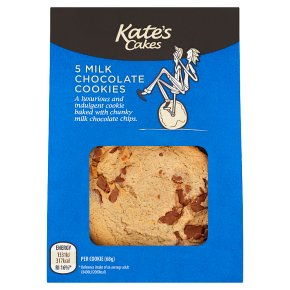 Kate's Cakes Milk Choc Cookies