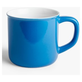 John Lewis Can Mug Cornflower Blue