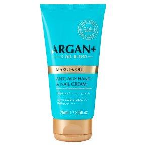 Full Ingredients List Argan Oil Hand Cream with Marula Oil