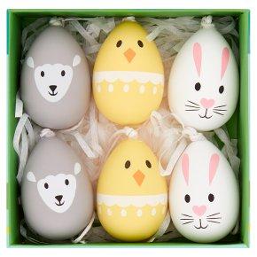 Waitrose Easter Rabbit, Chick & Lamb Decorative Eggs