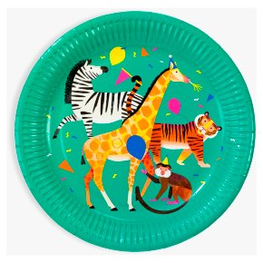 Talking Tables Party Animals Plates