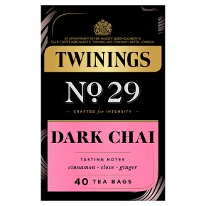 Twinings No.29 Dark Chai 40 Tea Bags