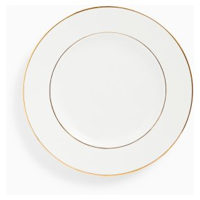 John Lewis Anyday Gold Band Dinner Plate 26.5cm