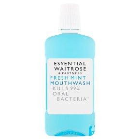 Essential Fresh Mint Mouthwash
