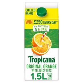 Tropicana Original Orange Juice with Juicy Bits