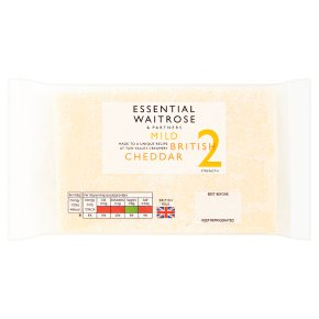 Essential Mild British Cheddar Strength 2