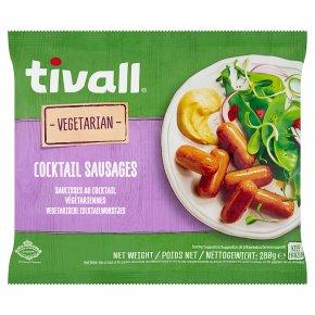 Tivall Vegetarian Cocktail Sausages