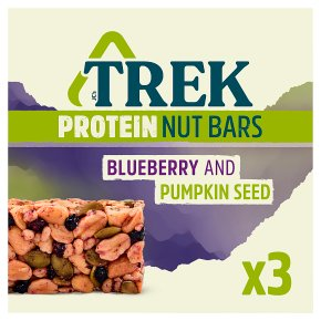 Trek Protein Nut Bars Blueberry & Pumpkin Seeds