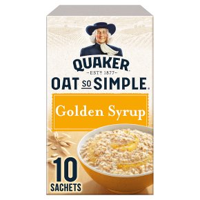 Quaker Oat So Simple Golden Syrup 10s