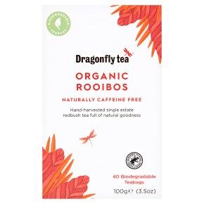 Dragonfly Tea Organic Rooibos 40 Tea Bags