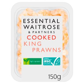 Essential Cooked King Prawns ASC