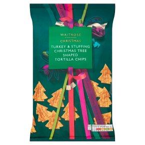 Waitrose Christmas Turkey & Stuffing Tortilla Chips