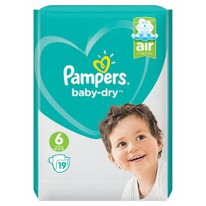 Pampers Baby-Dry 13-18kg Size 6
