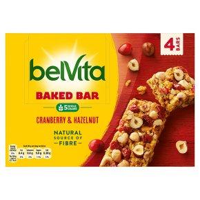 BelVita Baked Bar Cranberry & Hazelnut
